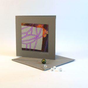 """Carterie d'Art - Carte artistique collection """"La face cachée"""" n°11 - Format 7,5 x 7,5 en vente sur la boutique de Carrés Nomades"""