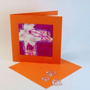 """Carterie d'Art - Carte artistique collection """"La face cachée"""" n°13 - Format 13,5 x 13,5 en vente sur la boutique de Carrés Nomades"""