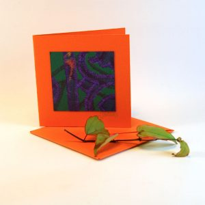 """Carterie d'Art - Carte artistique collection """"La face cachée"""" n°15 - Format 7,5 x 7,5 en vente sur la boutique de Carrés Nomades"""