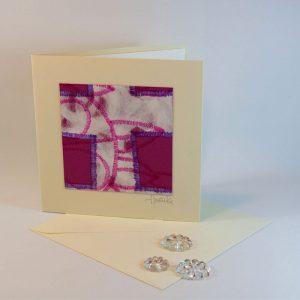 """Carterie d'Art - Carte artistique collection """"La face cachée"""" n°16 - Format 13,5 x 13,5 en vente sur la boutique de Carrés Nomades"""