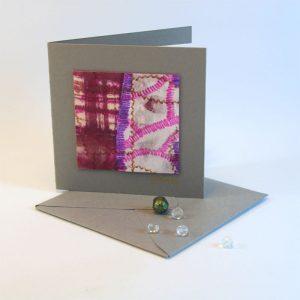 """Carterie d'Art - Carte artistique collection """"La face cachée"""" n°19 - Format 7,5 x 7,5 en vente sur la boutique de Carrés Nomades"""