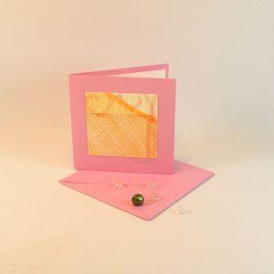"""Carterie d'Art - Carte artistique collection """"La face cachée"""" n°20 - Format 7,5 x 7,5 en vente sur la boutique de Carrés Nomades"""