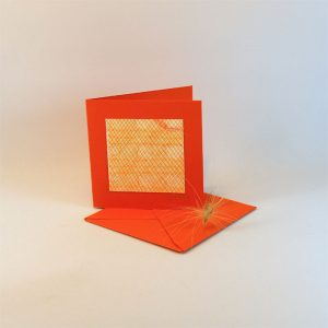 """Carterie d'Art - Carte artistique collection """"La face cachée"""" n°25 - Format 7,5 x 7,5 en vente sur la boutique de Carrés Nomades"""