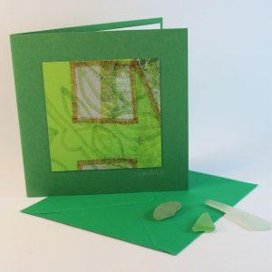 """Carterie d'Art - Carte artistique collection """"La face cachée"""" n°26 - Format 13,5 x 13,5 en vente sur la boutique de Carrés Nomades"""