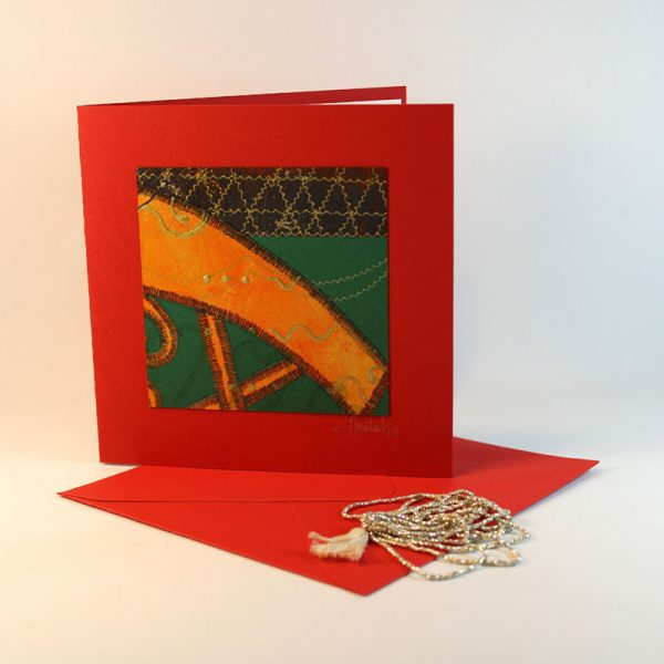 """Carterie d'Art - Carte artistique collection """"La face cachée"""" n°42 - Format 13,5 x 13,5 en vente sur la boutique de Carrés Nomades"""