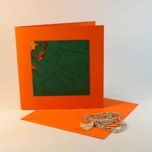 """Carterie d'Art - Carte artistique collection """"La face cachée"""" n°44 - Format 13,5 x 13,5 en vente sur la boutique de Carrés Nomades"""