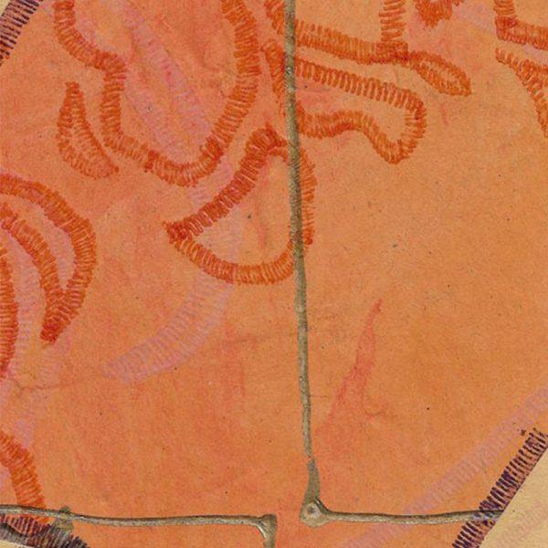 """Carterie d'Art - Carte artistique collection """"La face cachée"""" n°46 - Format 13,5 x 13,5 en vente sur la boutique de Carrés Nomades"""