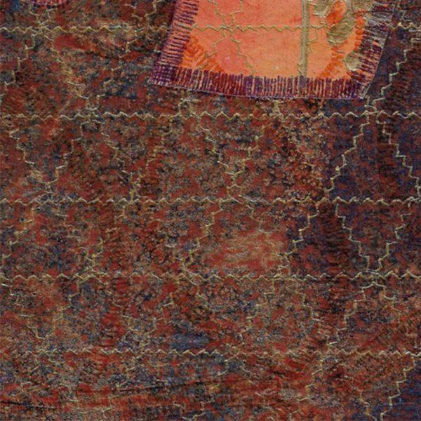 """Carterie d'Art - Carte artistique collection """"La face cachée"""" n°48 - Format 13,5 x 13,5 en vente sur la boutique de Carrés Nomades"""