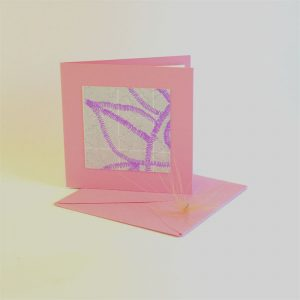 """Carterie d'Art - Carte artistique collection """"La face cachée"""" n°9 - Format 7,5 x 7,5 en vente sur la boutique de Carrés Nomades"""